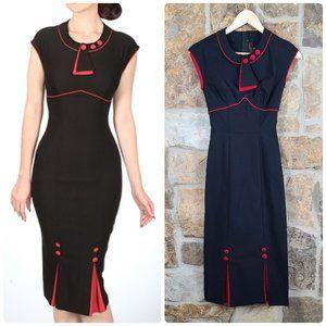 Stop Staring 1930s Retro Bombshell Dress S